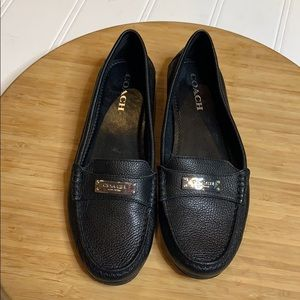 Coach slip resistant black Loafers